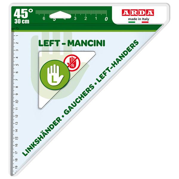 Squadra per Mancini - 45 gradi - 30 cm - Arda Foto prodotto