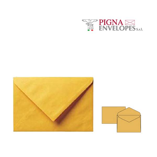 Busta senza finestra - serie Giallo postale - 180 x 240 mm - conf. 25 pezzi - 80 gr - giallo - Pigna Foto prodotto