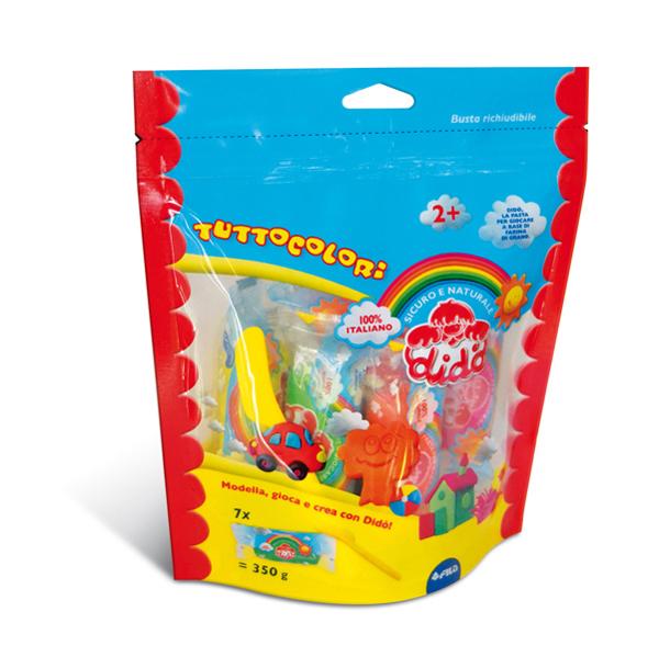 Blister DiDo Box Colors - 7 salsicciotti - con coltellino - DiDo Foto prodotto