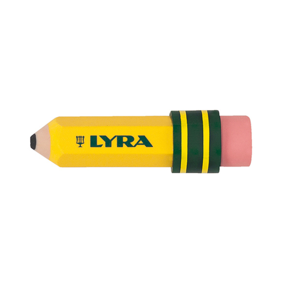 Gomma matita Temagraph - 70 mm x diametro 20 mm - Lyra Foto prodotto