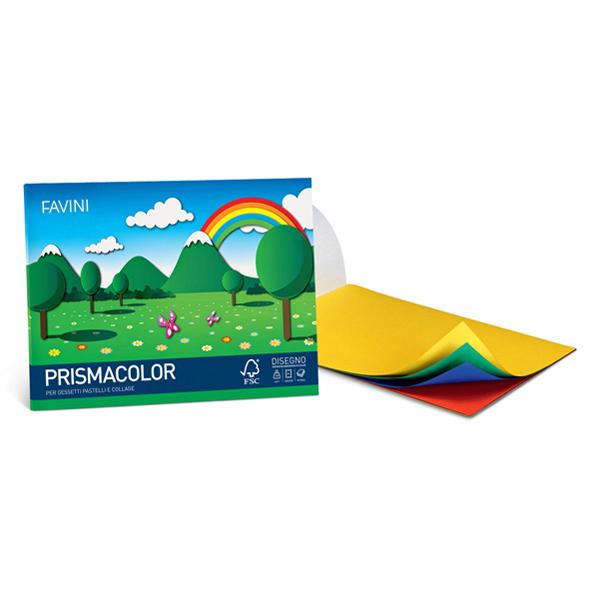 Album Prismacolor - 24 x 33 cm - 10 fogli - 128 gr - monoruvido - Favini Foto prodotto