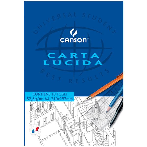 Blocco carta lucida - 210 x 297 mm - 10 fogli - 80 gr - uso manuale - Canson Foto prodotto