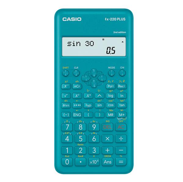 Calcolatrice scientifica FX- 220PLUS - azzurro - Casio Foto prodotto