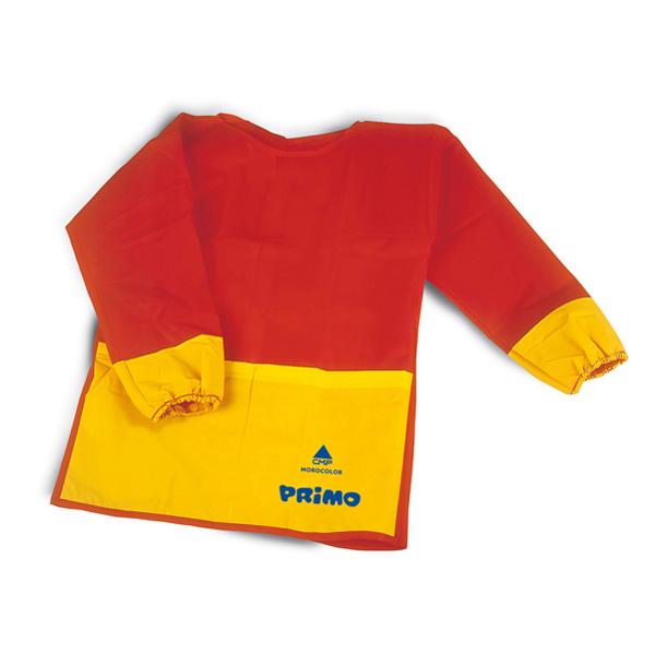 Grembiulino anti macchia -  maniche in tessuto plastico - Primo Foto prodotto