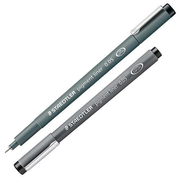 Pennarello Pigment Liner 308 - nero - 0,05 mm - Staedtler Foto prodotto