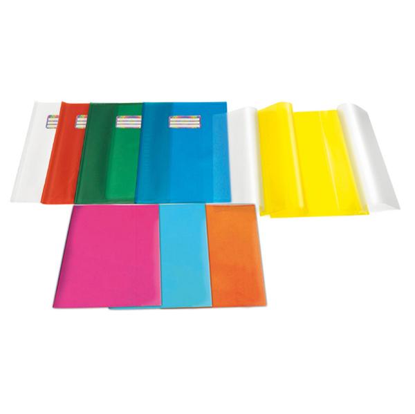 Coprimaxi Emy Silk - 21 x 30 cm - PVC - goffrato - neutro - trasparente - con alette - Ri.plast Foto prodotto