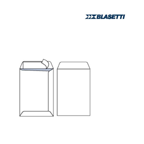 Busta a sacco senza finestra - serie Mailpack - 230 x 330 mm - conf. 25 pezzi - 80 gr - bianco - Blasetti Foto prodotto