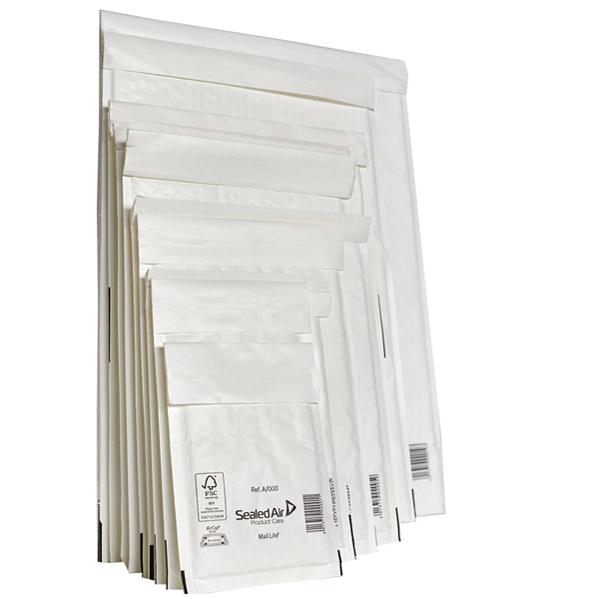 Busta imbottita Mail Lite® - formato F (22 x 33 cm) - conf. 10 pezzi - bianco - Sealed Air Foto prodotto