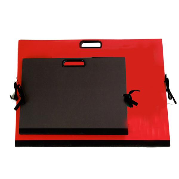 Cartella portadisegni - con maniglia - 35 x 50 cm - nero - Brefiocart Foto prodotto