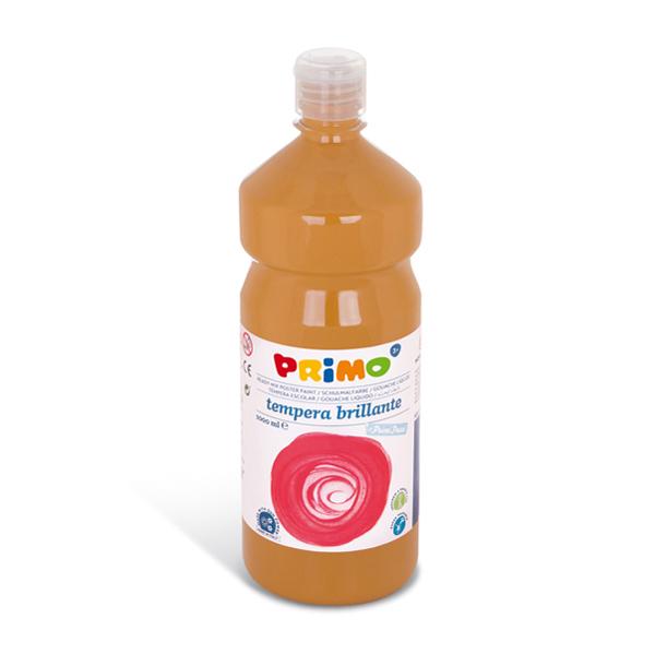 Tempera brillante da 1000 ml - giallo ocra - Primo Foto prodotto