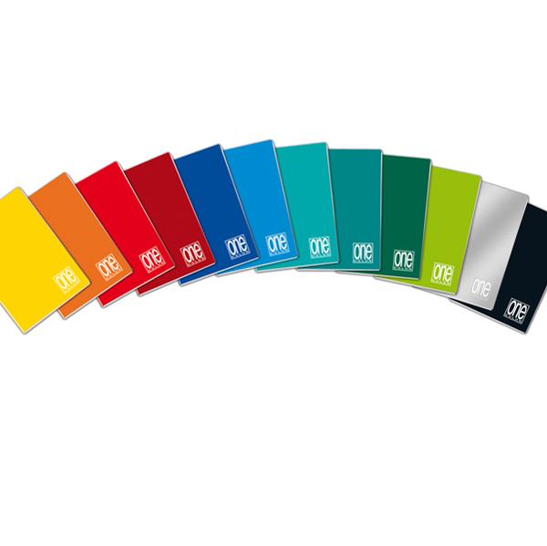 Maxiquaderno One Color con fori - A4 - quadretto 10mm - 20 fogli - 80gr - copertina PPL - Blasetti Foto prodotto