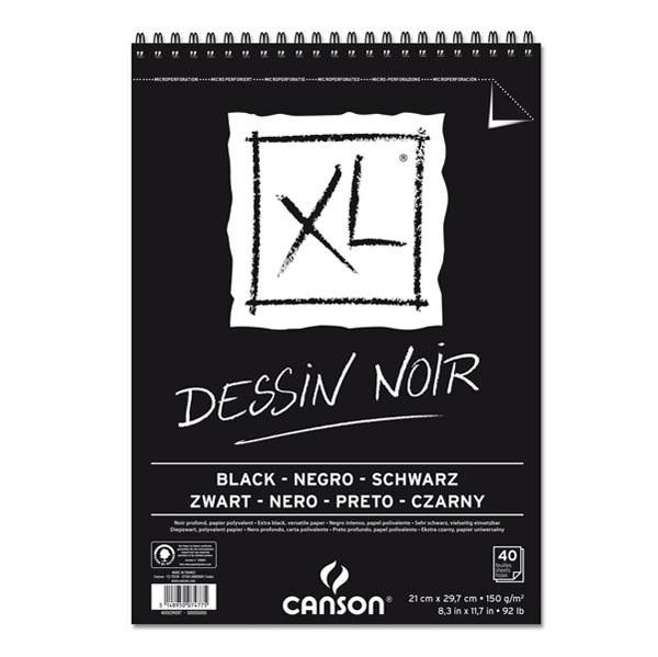 Album XL Dessin noir - A4 - 150 gr - 40 fogli - Canson Foto prodotto
