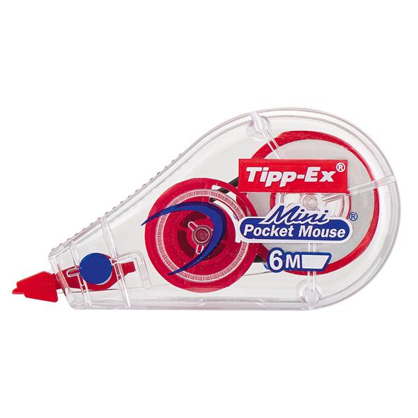 Correttore a nastro Mini Pocket Mouse - 5 mm x 6 mt - colori assortiti - Tipp-Ex Foto prodotto