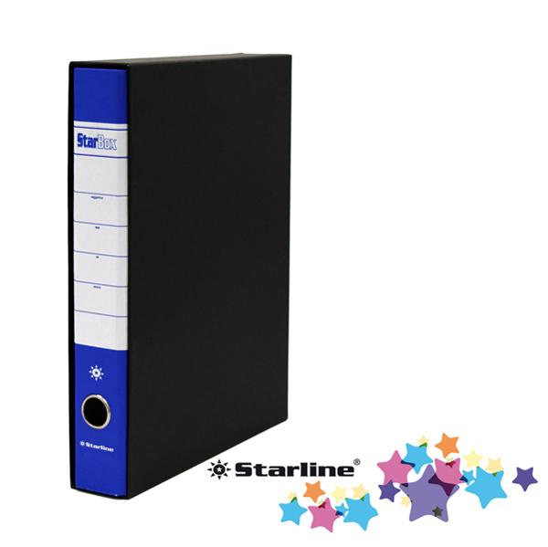 Registratore Starbox sfuso - dorso 5 cm - protocollo 23 x 33 cm - blu - Starline Foto prodotto