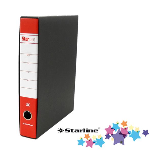 Registratore Starbox sfuso - dorso 5 cm - protocollo 23 x 33 cm - rosso - Starline Foto prodotto