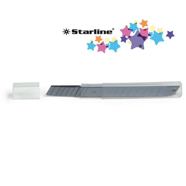 Lame di ricambio - 9 mm - universali - per cutter - blister 10 lame - Starline Foto prodotto
