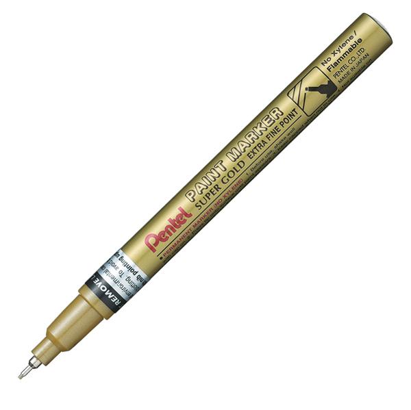 Marcatore Paint Marker Linea Amiko - punta extra fine 0,60 mm - oro - Pentel Foto prodotto