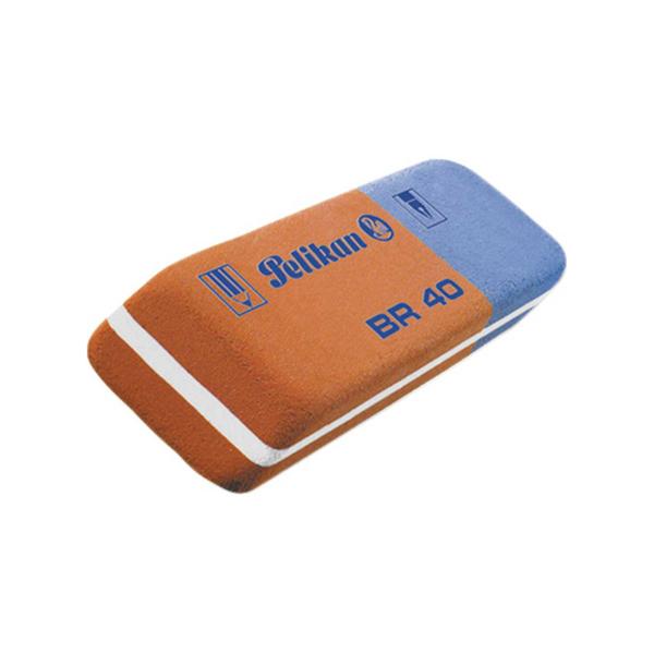 Gomma BR40 - blu e rossa - Pelikan Foto prodotto