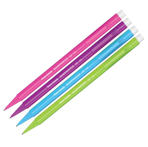 Portamine Non Stop - mina 0,70 mm - colori assortiti - Papermate Foto prodotto