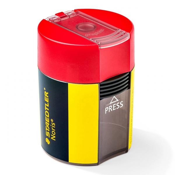 Temperamatite Noris con contenitore  - 1 foro - con contenitore - Staedtler Foto prodotto