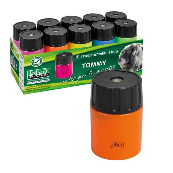 Temperamatite - 1 foro - con contenitore - Lebez Foto prodotto