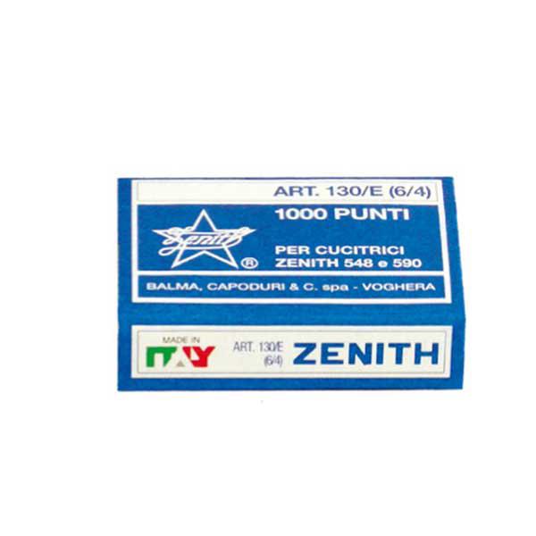 Punti 130/E - 6/4 - acciaio naturale - conf. 1000 pezzi - Zenith Foto prodotto