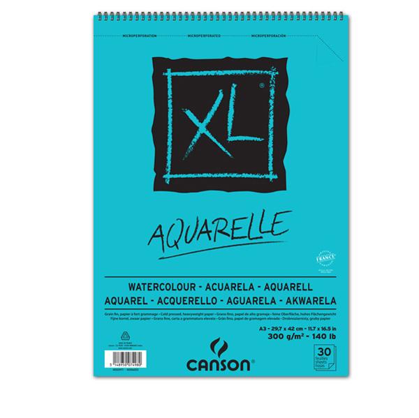 Album XL Aquarelle - A3 - 300 gr - 30 fogli - Canson Foto prodotto