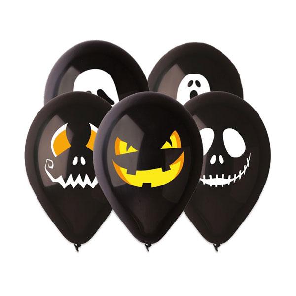 Palloncini All Around Halloween - conf. 50 pezzi - Big Party Foto prodotto