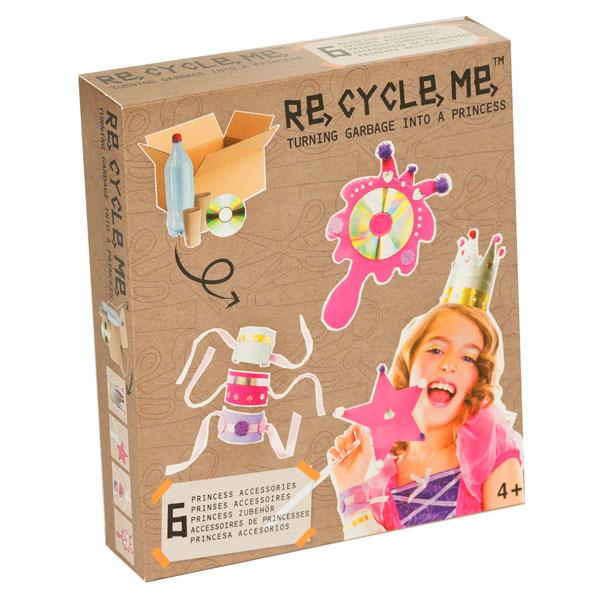 Kit ecosostenibile per bricolage - Make a princess - 22 x 25 cm - ReCycle Me Foto prodotto