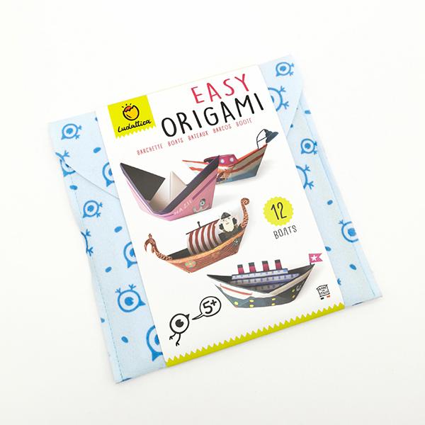 Easy origami - barchette - Ludattica Foto prodotto