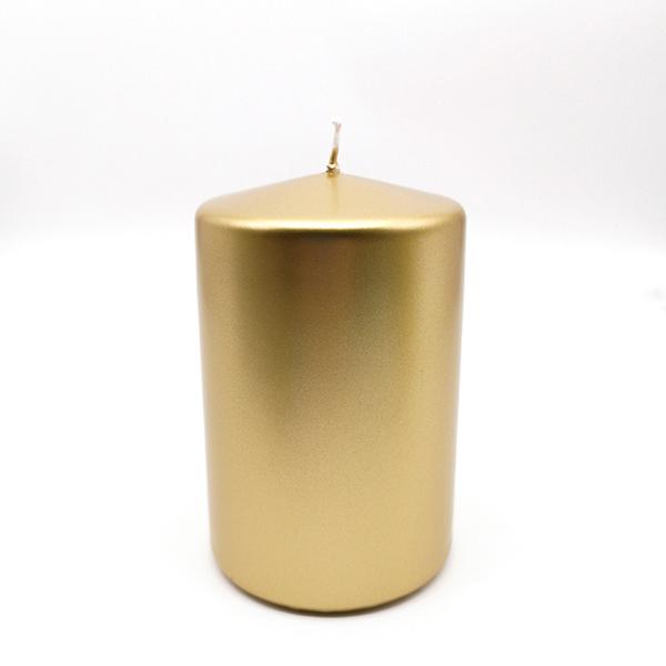 Candela moccolo - metallo oro - h. 12 cm - EDG Foto prodotto