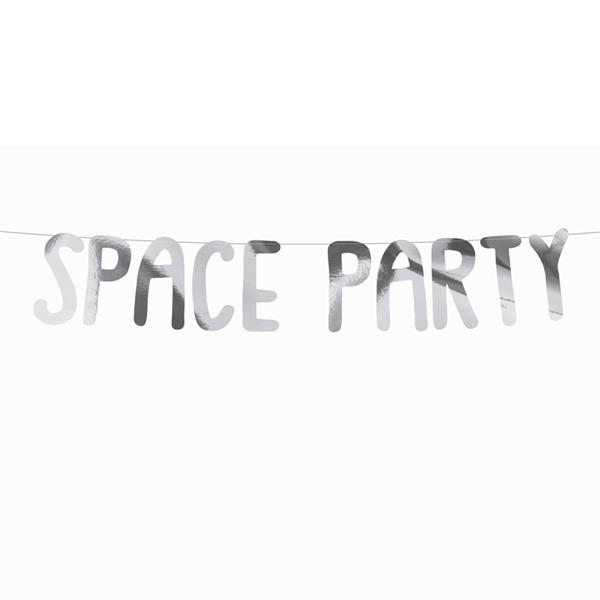 Festone - Space party - 13 x 96 cm - Partydeco Foto prodotto