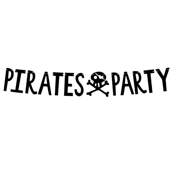 Festone - Pirati party - 14 x 100 cm - Partydeco Foto prodotto