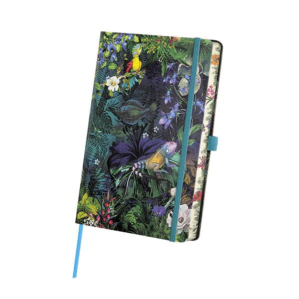 Notebook righe Eden Lily - 9 x 14 cm - Castelli Milano Foto prodotto