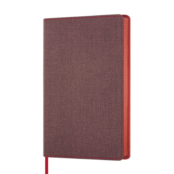 Notebook righe Harris maple red - 13 x 21 cm - Castelli Milano Foto prodotto