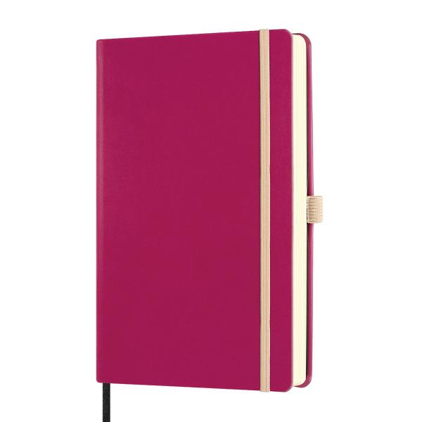 Notebook righe Aquarela  amaranth - 13 x 21 cm - Castelli Milano Foto prodotto