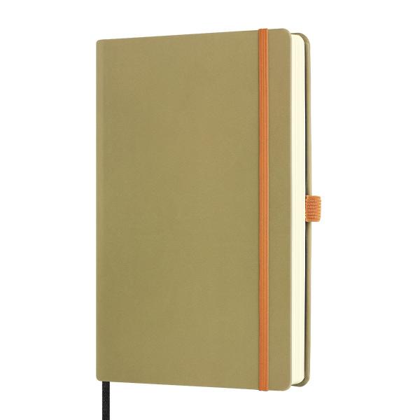 Notebook righe Aquarela olive - 13 x 21 cm - Castelli Milano Foto prodotto