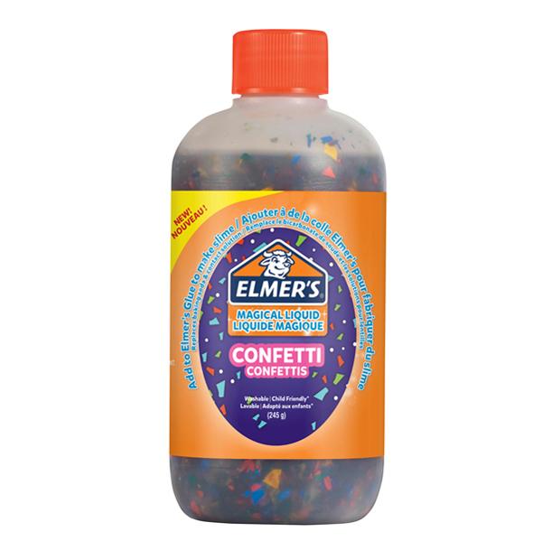 Colla Magical Liquid Confetti Slime - flacone 259 ml - Elmer's Newell Foto prodotto