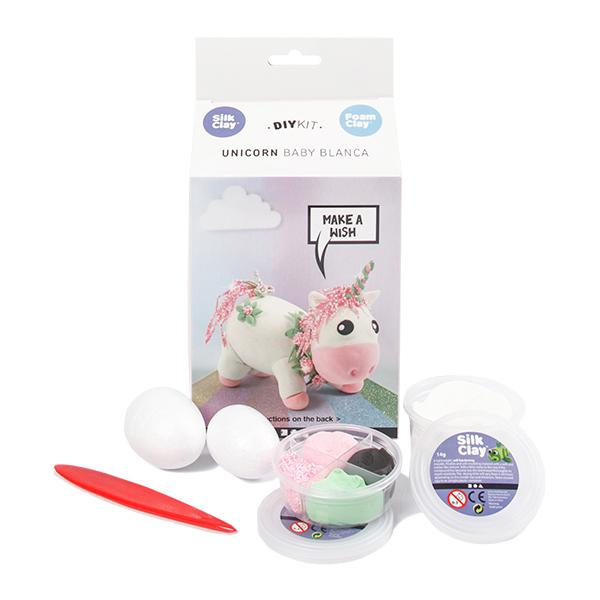 Kit paste modellabili - unicorno rosato - Creativ Company Foto prodotto