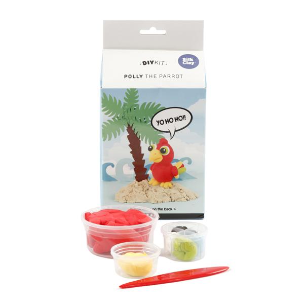 Kit paste modellabili - pappagallo - Creativ Company Foto prodotto