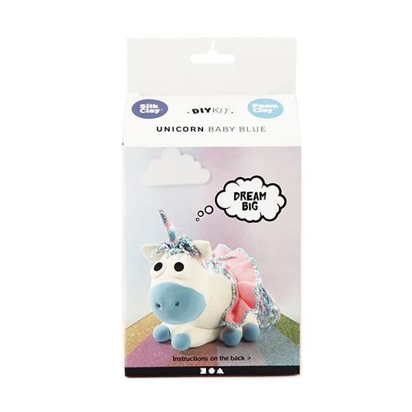 Kit paste modellabili - unicorno blu - Creativ Company Foto prodotto Photo 02 S