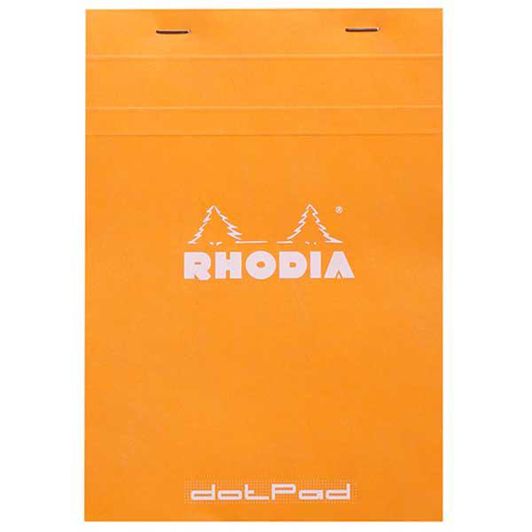 Blocco Orange n. 16 - dotpad - punti - A5 - 14,8 x 21 cm - 80 gr - 80 fogli - Rhodia Foto prodotto