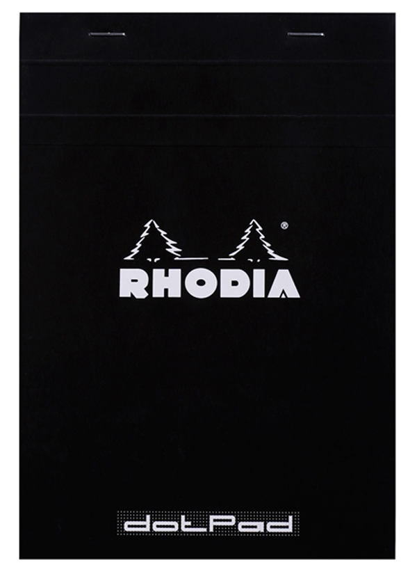 Blocco Black n. 16 - dotpad - punti - A5 - 14,8 x 21 cm - 80 gr - 80 fogli - Rhodia Foto prodotto