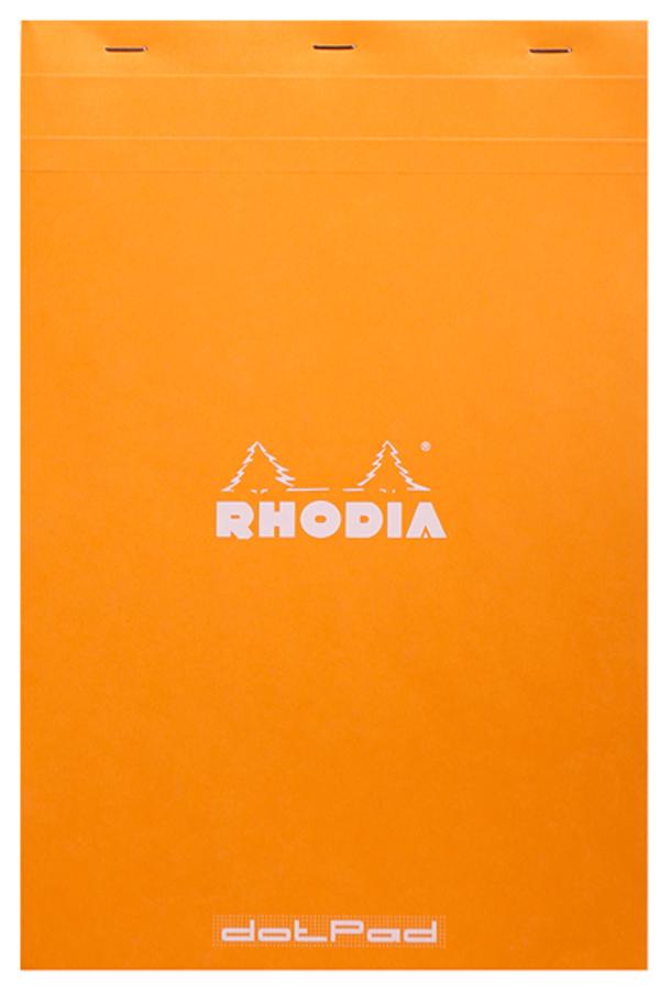 Blocco Black n. 19 - dotpad - punti - A4+ - 21 x 31,8 cm - 80 gr - 80 fogli - Rhodia Foto prodotto