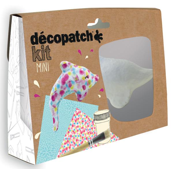 Mini kit - Delfino - Decopatch Foto prodotto