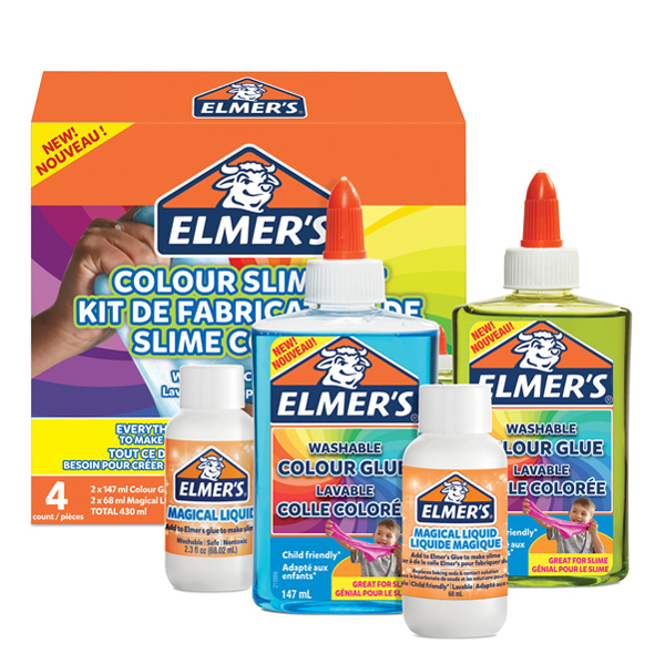 Kit traslucido Slime - Elmer's Newell Foto prodotto