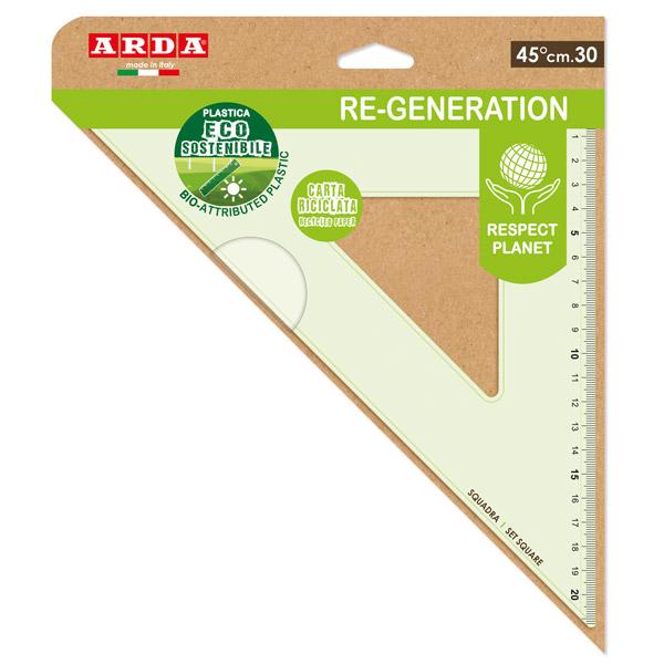 Squadra RE-GENERATION - 45 gradi - 30 cm - Arda Foto prodotto