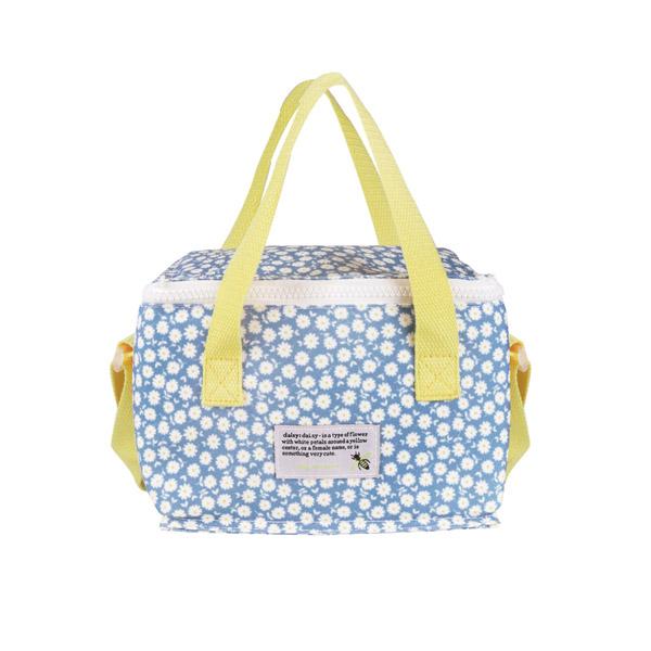 Lunch Bag Classic B'LOG FLOWERS Blue - termica - 20 x 15 x 14 cm - azzurro - Ancor Foto prodotto