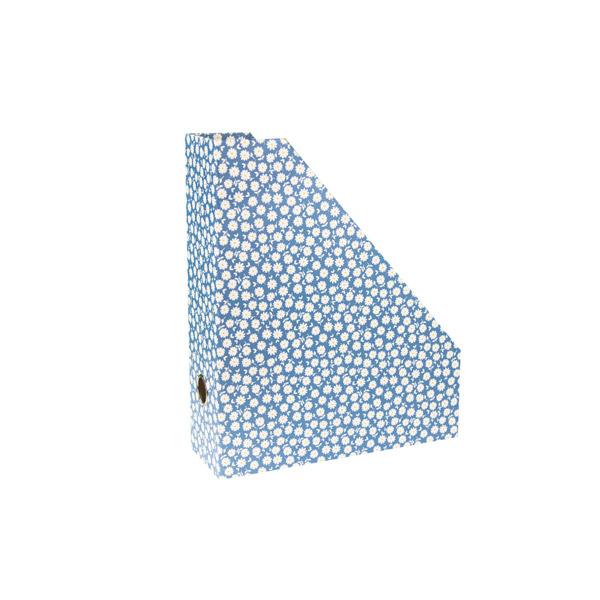 Portariviste B'LOG FLOWERS Blue - 25 x 30 x 8 cm - azzurro - Ancor Foto prodotto