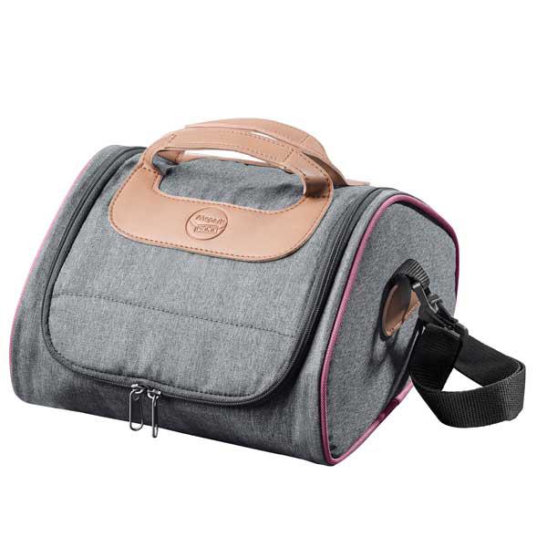 Lunch Bag Concept - 225 x 245 x 145 mm- 4,4 litri - profili rosa - Maped Foto prodotto